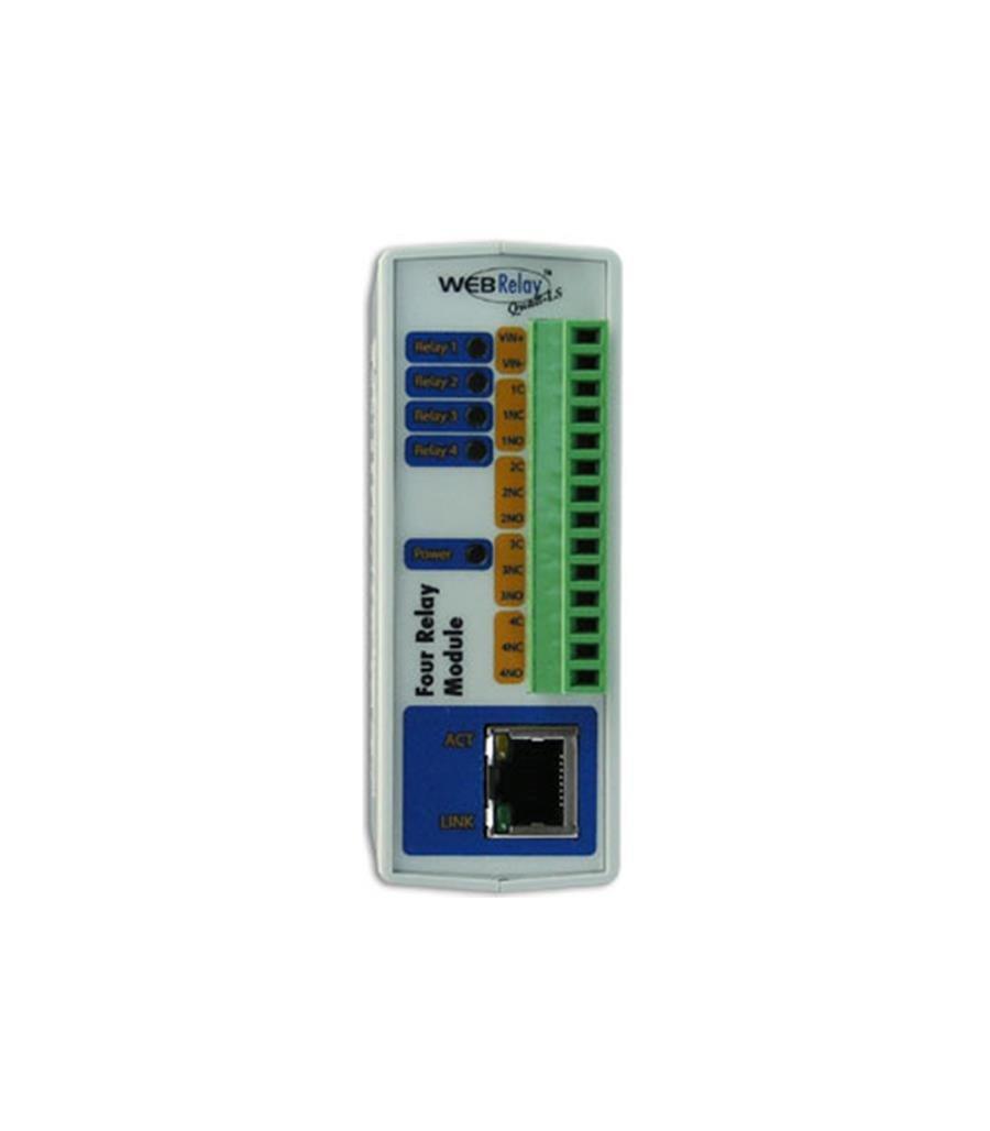 2N 9137411E External Ip Relay - 4 Outputs- Poe