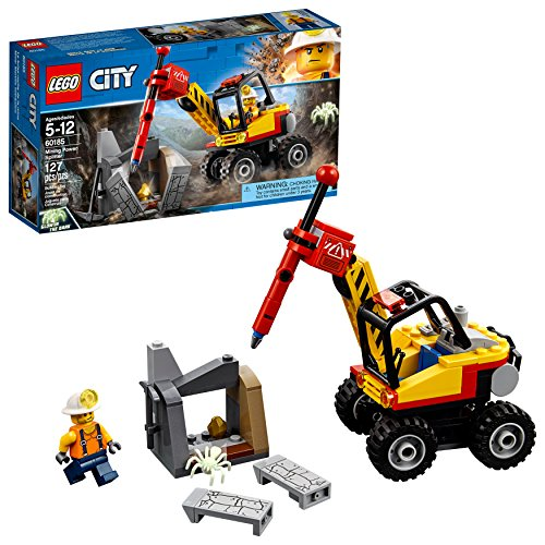 LEGO City Mining Power Splitter 60185 Building Kit (127 Piece)