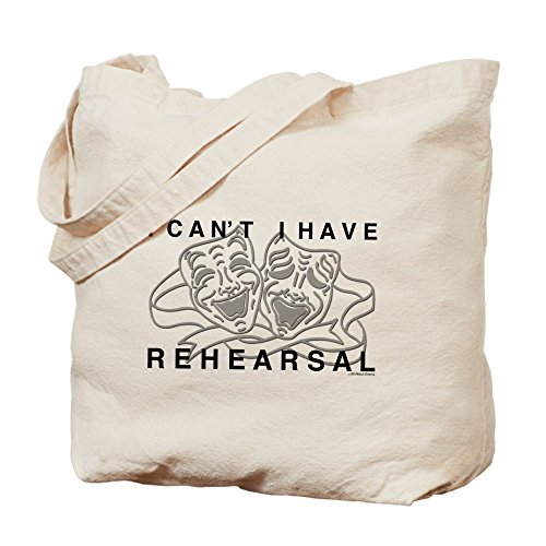 CafePress I Can't I Have Rehearsal w LG Drama Masks Tote Bag - Standard by CafePress