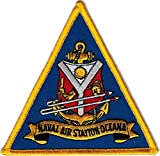 """Naval Air Station Oceana Field NAS 4"""" Embroidered Patch"""