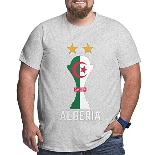 Xmy Algeria Team Football Jersey Soccer Africa Cup CAN Big Size Men's T-Shirt,Big Tshirts for Men's (Best Selling Football Jersey 2019)