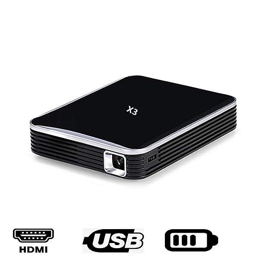 ZDNP Portátil Mini Proyector DLP X3, 200 lúmenes HDMI USB de ...