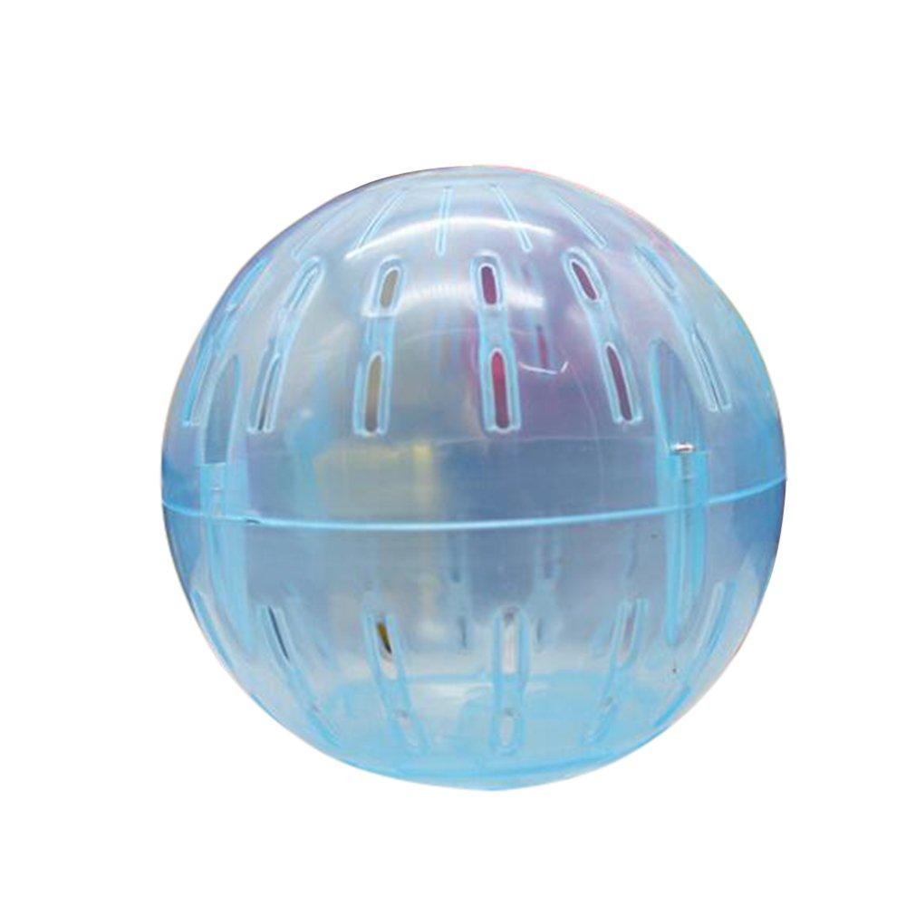 Roblue Run-About Balle d'exercice pour hamster Petit AnimaUX Mini En Plastique 12x12x12cm YEAH