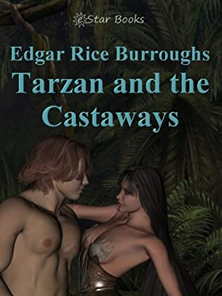book cover of Tarzan and the Castaways
