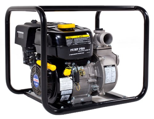Lifan Pump Pro Lf2wp Ca 2 Inch Commercial Centrifugal Water Pump With 6 5 Hp 196Cc 4 Stroke Ohv Industrial Grade Gas Engine With Recoil Start  Carb Certified