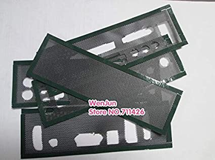ShineBear DIY Universal General Host Chassis Baffle I//O Back Plate for Desktop Computer Motherboard Cable Length: 2pcs