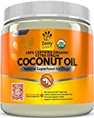 Zesty Paws Coconut Oil is a superfood supplement derived from 100% Certified Organic coconuts that provides dogs with natural nourishment. As a clean source of medium-chain triglycerides (fatty acids), this extra virgin Coconut Oil helps prom...