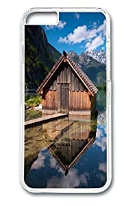 6 plus Case, iPhone 6 plus Case - Perfect Fit Cases for iPhone 6 plus House Over Water Clear Hard PC Bumper Covers for iPhone 6 plus