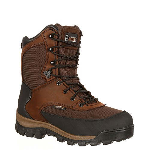 Brown Outdoor Boot Rocky Core 800G Dark Waterproof Insulated x6f0fIq