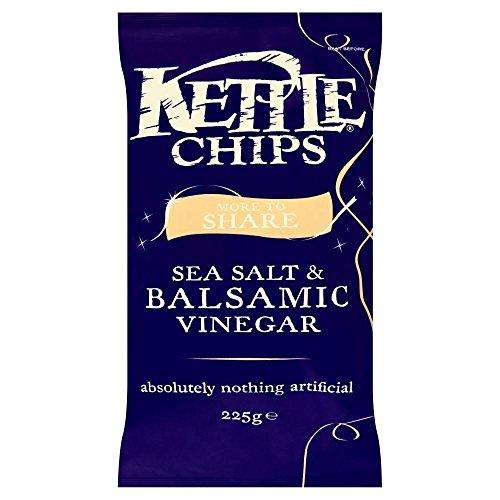 Kettle Chips - Sea Salt & Balsamic Vinegar (225g)
