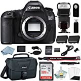 Canon EOS 5DSR Digital SLR Camera Kit - Body Only + Canon CarePak PLUS 13 Month Damage Protection + Professional Accessory Bundle-Including EVERYTHING You Need To Go Pro