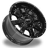 17x9 IWS 5005 Painted Black Wheel 6x135 / 6X139.7 - (-12mm) Offset