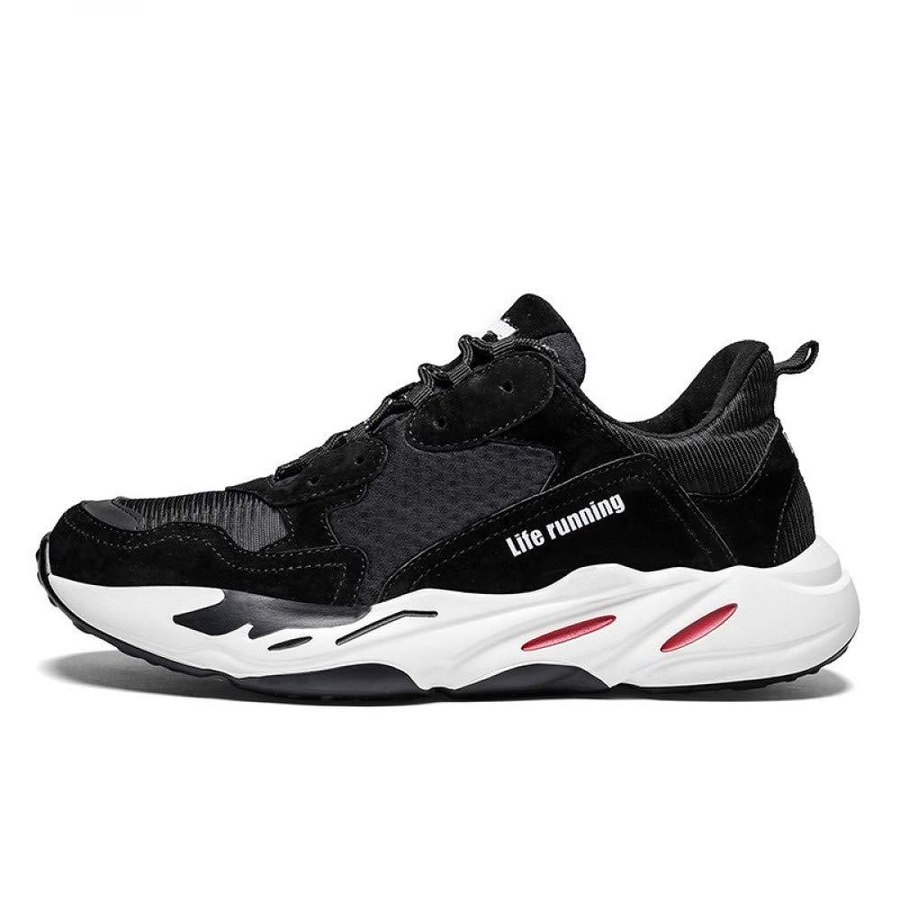 Hasag Chaussures de Sport Nouveaux de Hommes Femmes Chaussures de Nouveaux Course décontractées 42|black 2deb14