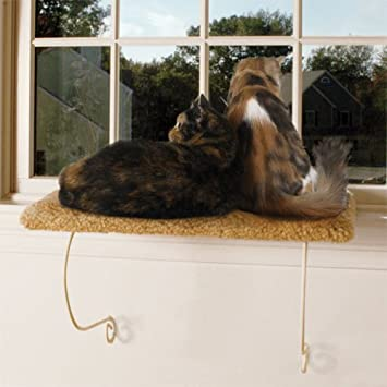 Dog Cat Window Perch Bed Seat Meow Town