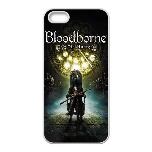 Bloodborne The Old Hunters F0G08M2EL coque iPhone 4 4s case coque cover white 3G5F2Y