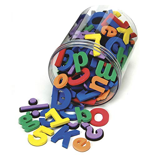 Chenille Kraft 4357 Wonderfoam Magnetic Alphabet Letters, Assorted Colors. 110/Pack (CKC4357)