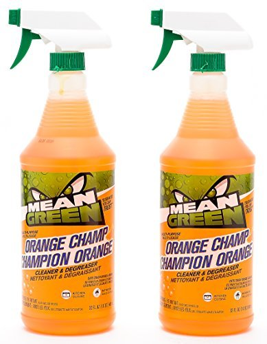 Mean Green Orange Champ Cleaner and Degreaser Super Strength Mildew Destroyer & Multi Surface Cleaner for Bathrooms, Kitchen and Laundry, 1 QT / 32 floz (2 ()