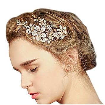 Vintage Braut Haarschmuck Haarspangen Hochzeit Haar Accessoires L