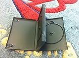 50 PCS ORIGINAL ALPHA MULTI-3 AMARAY DVD CASE W/BOOKLET CLIPS, SWING TRAY, BLACK, 27MM PSD52USA