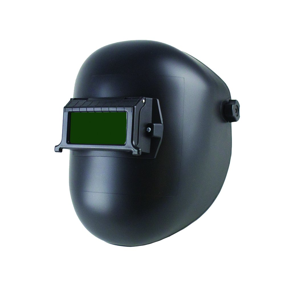 Sellstrom S28301 Nylon Super Slim Lightweight Welding Helmet with 2'' x 4.25'' Lift Front Retainer, Black (Filters and Cover Plates Sold Seperately), Made in USA