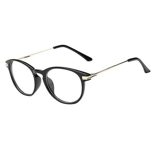 Hzjundasi Vendimia Ligero Miope Nearsighted Lente Miopía Gafas para Estudiantes -1.0 -2.0 -3.0 -4.0 ...