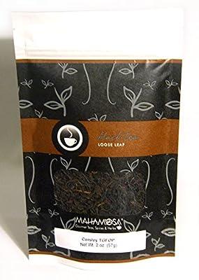 Mahamosa Nilgiri Indian Black Tea Loose Leaf (Looseleaf)- Corsley TGFOP 2 oz, Single Estate Loose Black Tea