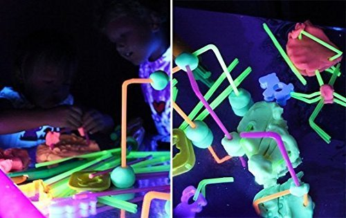Glow Dough (Rainbow Glow Dough Occupational Therapy Special Needs Autism Tactile Relaxation)