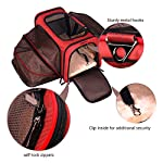Premium Airline Approved Expandable Pet Carrier by Pet Peppy- TWO SIDE Expansion, Designed for Cats, Dogs, Kittens, Puppies – Extra Spacious Soft Sided Travel Carrier!
