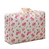 Habitaen Portable Quilt Storage Bag Waterproof Oxford Clothing Moving Luggage Bags Packaging