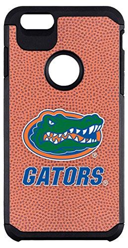 NCAA Florida Gators Classic Football Pebble Grain Feel iPhone 6 Plus Case, One Size, Brown ()