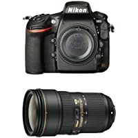 Nikon D810 FX-Format DSLR Camera with 24-70mm Lens