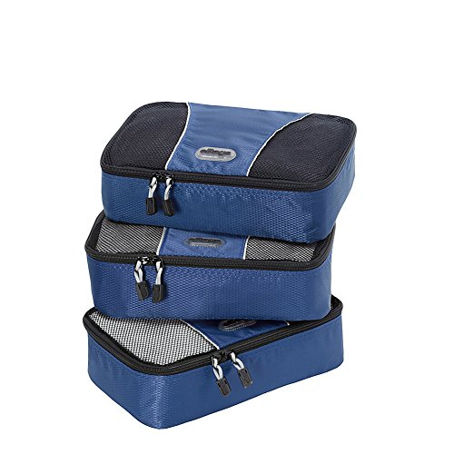 eBags Small Packing Cubes - 3pc Set (Denim) by eBags