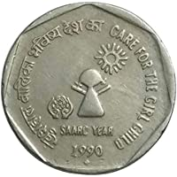 Genuine Coins Gallery.Care for The Girl Child ( Saarc Year ) Coin.