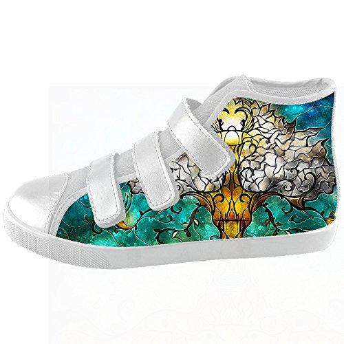 Peinture D'arbre D'art Personnalisé Kids Toile Chaussures Chaussures Chaussures Chaussures.
