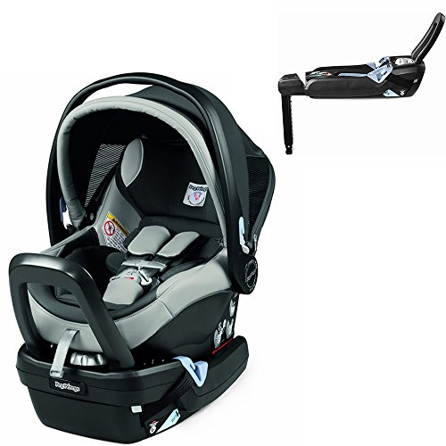 (Peg Perego Primo Viaggio Nido Car Seat with Load Leg Base, Ice)