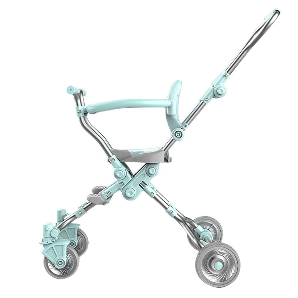Socean Baby Carriage - Lightweight Folding Strollers, high Landscape Outdoor Travel Strollers, Super Load-Bearing, Four-Wheeled Brakes.