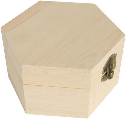 Daliuing Caja de Regalo de Madera Caja de Embalaje de ...