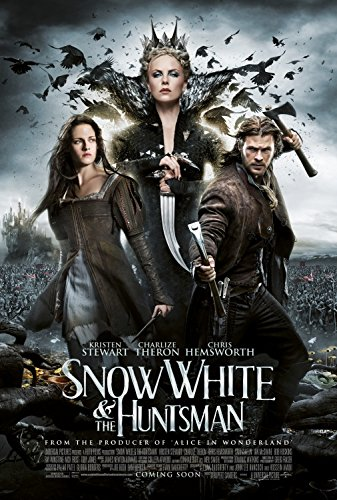 Snow White and the Huntsman Kristen Stewart Chris Hemsworth Charlize Theron Original Double Sided Rolled 27x40...