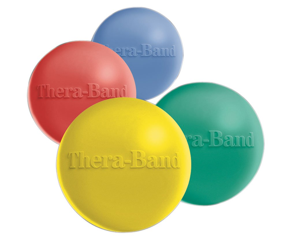 Thera-Band Hand Exercisers, Extra Soft, Yellow, box of 12