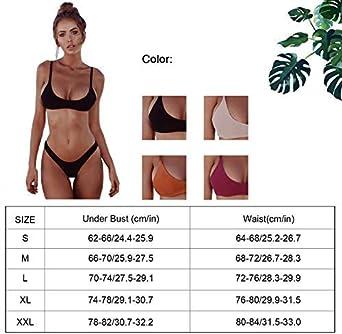 heekpek Bikini Push Up Costumi Donna Mare Due Pezzi Costume da Bagno Donna Due Pezzi Costumi Donna Mare