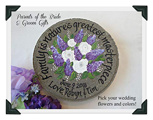 English Garden Stone - Parent Wedding Gift, 12