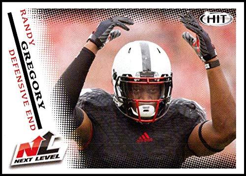 - 2015 SAGE HIT #71 Randy Gregory NM-MT Nebraska Cornhuskers Football Trading Card
