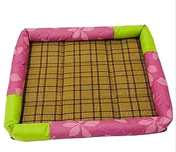 xinjiener Almohada de enfriamiento del perro de la cama confortable Almohadilla de enfriamiento del animal doméstico