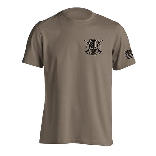 528b1d63 Amazon.com: One Nation Under God Military T-Shirt: Clothing