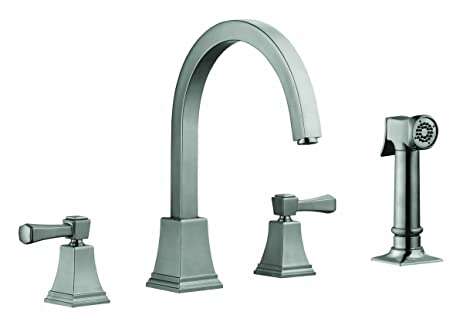 design house kitchen faucets. Design House 522110 Torino Kitchen Faucet With Sprayer  Satin Nickel