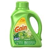 Gain Liquid Laundry Detergent, Original Scent, 1.47 L (32 loads)