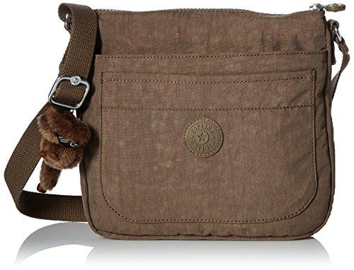 Kipling Women's Sebastian Crossbody Bag, Soft Earthy Bei