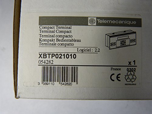 Telemecanique XBT-P021010 Operator Interface Terminal 24VDC: Amazon.com: Industrial & Scientific