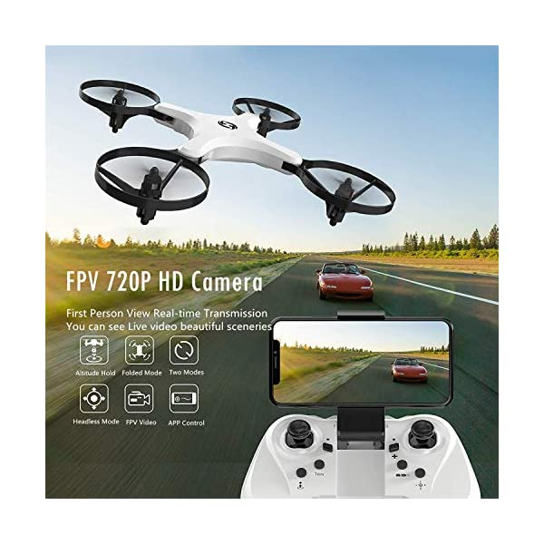 Holy Stone HS220 FPV RC Quadcopter Drone with Camera Live Video