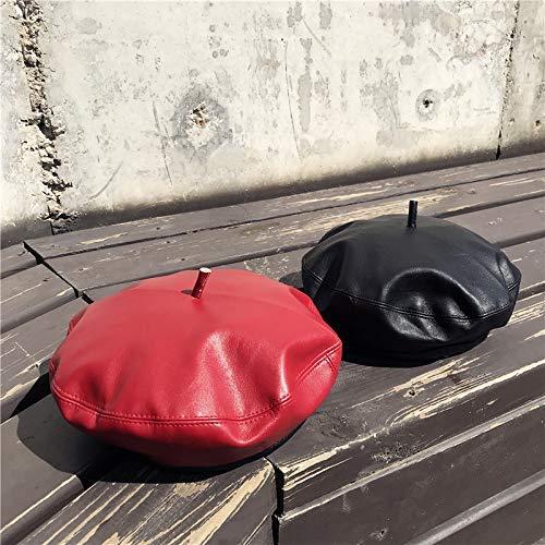 M Y Cm Rojo Invierno Cm 58 Adream De Cm 56 58 Otoño Negro Gorra Color Talla 56 fxwq8tSqO